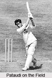 Mansoor Ali Khan Pataudi, Indian Cricket Player