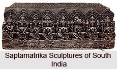 Saptamatrika Sculptures of South India