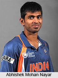 Abhishek Mohan Nayar, Indian Cricket Player