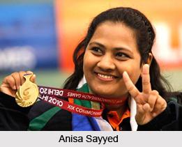 Anisa Sayyed, Indian Shooter