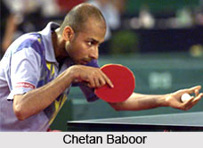 Chetan Baboor, Indian Tennis Player