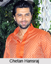 Chetan Hansraj, Indian TV Actor