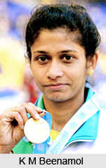 K M Beenamol, Indian Athlete