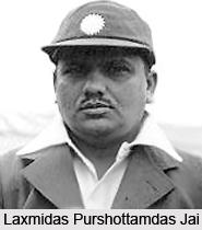 Laxmidas Purshottamdas Jai, Indian Cricket Player