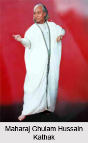Maharaj Ghulam Hussain Kathak, Indian Kathak Dancer