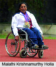 Malathi Krishnamurthy Holla, Indian Para Athlete