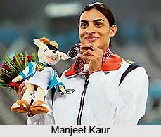 Manjeet Kaur, Indian Sprinter