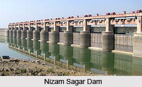Nizam Sagar Dam, Andhra Pradesh