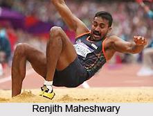 Renjith Maheshwary, Indian Athlete