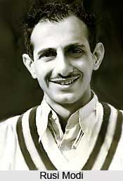 Rusi Modi, Indian Cricket Player