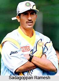 Sadagoppan Ramesh, Indian Cricket Player