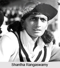 Shantha Rangaswamy, Indian Woman Cricketer