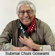 Subimal Chuni Goswami, Indian Football Player