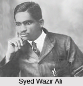 Syed Wazir Ali, Indian Cricket Player