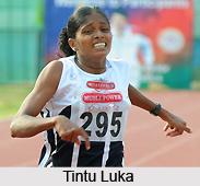 Tintu Luka, Indian Athlete