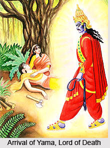 legend of savitri indian mythology