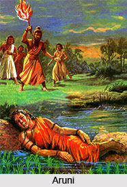 Aruni, Tale From Mahabharata