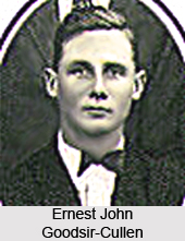 Ernest John Goodsir-Cullen, Indian Hockey Player