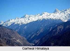Garhwal Himalaya, Indian Himalayan Regions