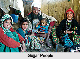 Gujjar Population in India