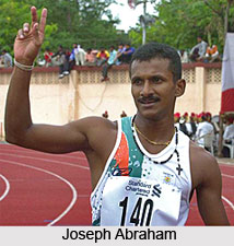 Joseph Abraham, Indian Athlete