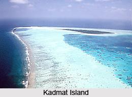 Kadmat Island Beach