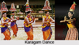 Karagam Dance, Folk Dance of Tamil Nadu