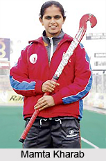 Mamta Kharab, Indian Hockey Player