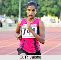 O. P. Jaisha, Indian Athlete