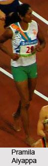 Pramila Gudanda Aiyappa, Indian Athlete