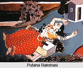 Putana, Rakshasi, Demoness