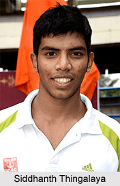 Siddhanth Thingalaya, Indian Athlete