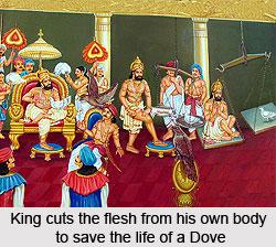 Stories of self-sacrifice, Narratives in Mahabharata