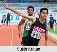 Sujith Kuttan, Indian Athlete