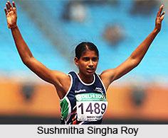Sushmitha Singha Roy, Indian Athlete