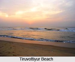 Tiruvottiyur Beach