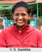 V. S. Surekha, Indian Pole Vaulter