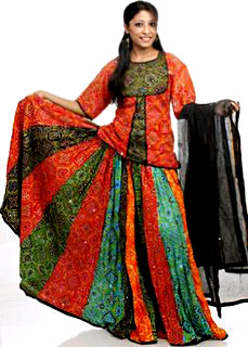 Ghaghra, Costume for Rajasthani Women