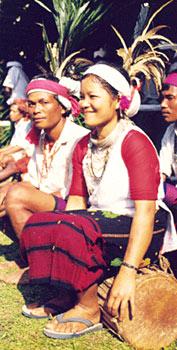 Garo Woman Costume of Meghalaya