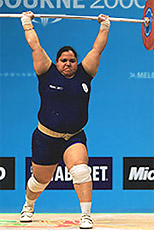 Arjuna Awardee in Weightlifting 2007 - Geeta Rani