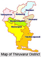 Thiruvarur District, Tamil Nadu