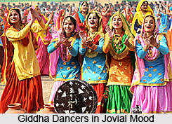 Giddha Dance, Folk Dance of Punjab