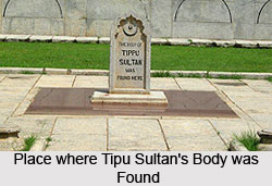 Tipu Sultan, King of Mysore