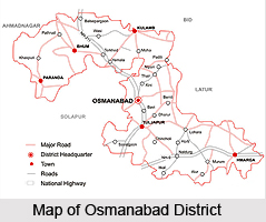 Administration of Osmanabad District, Maharashtra