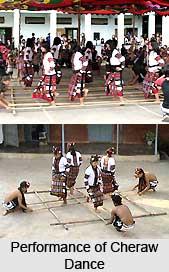 Cheraw Dance, Mizoram