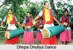 Dhepa Dhuliya Dance, Folk Dance of Odisha
