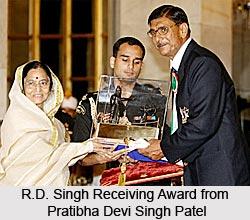 R.D. Singh, Indian Athlete