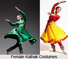 Costume in Kathak
