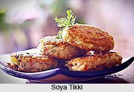 Soya Tikki, Indian Snack