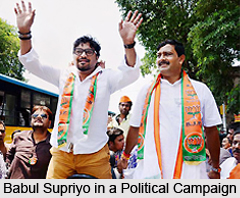 Babul Supriyo, Indian Politician
